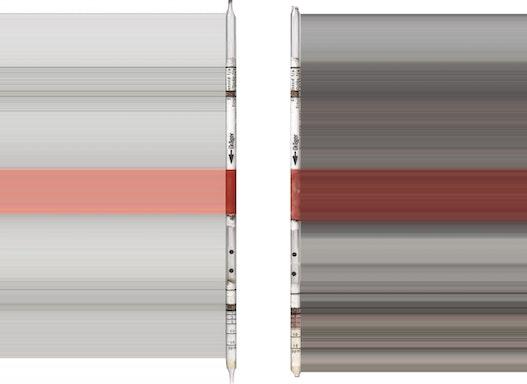 Dräger Prüfröhrchen - Ethylenoxid 1/a  1 bis 15 ppm - Dräger-Röhrchen
