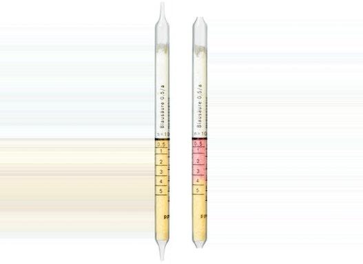 Dräger Prüfröhrchen - Blausäure 0,5/a   0,5 bis 5 ppm / 5 bis 50 ppm - Dräger-Röhrchen