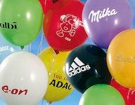 Luftballons mit Werbeaufschrift, Luftballons mit Logo-Aufdruck