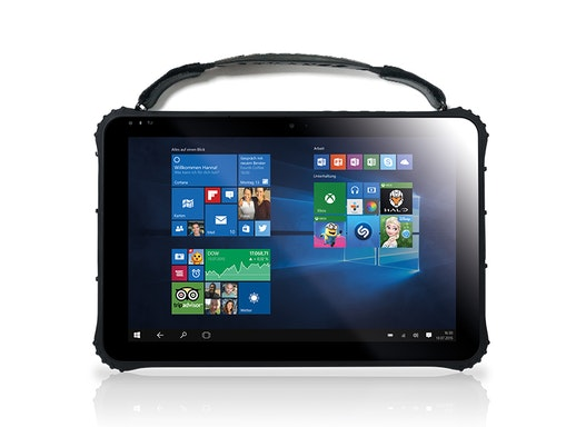 """Robustes 12,2"""" Outdoor Tablet PC Pokini FS12 (Rugged, 4GB, 128GB, W10 Pro oder Android, 4G LTE, GPS, seriell, Barcode)"""