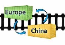 Chinazug Transporte von ICLS
