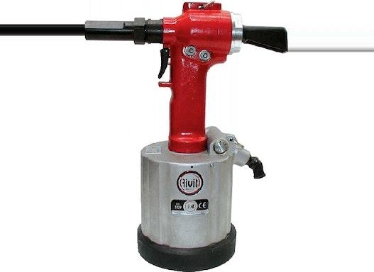 RIV 509 – Hydropneumatisches Werkzeug für Schließringbolzen
