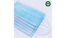 med. Einweg-Mundschutzmasken OP-Atemschutzmasken