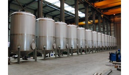 Lagertanks aus Edelstahl