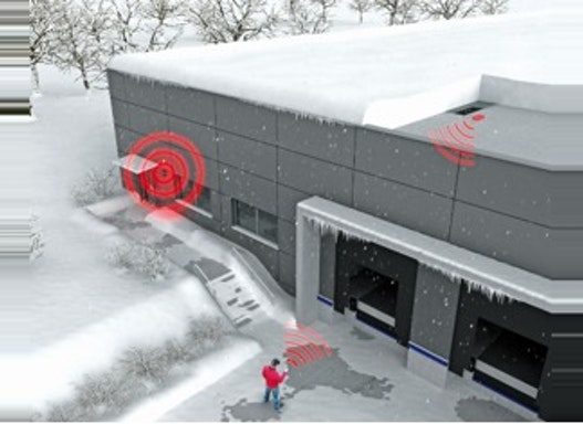 Schnee- und Stauwasser-Alarmsystem / Schneewaage, Dachsicherheitsprodukte für Gebäudesicherheit