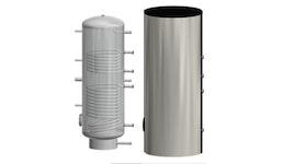 Warmwasserbereiter mit 2 Heizregistern USE-2, 200-1000 Liter