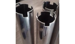 Bearbeitung von Aluminium- und Stahlrohre