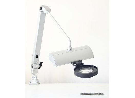 BATZTRONIC LED Allround Arbeitsplatzleuchte mit Wechsellinse