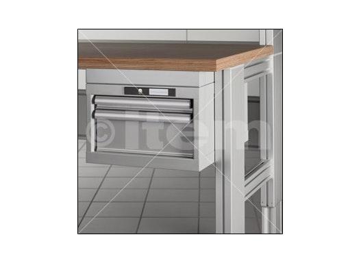 Adaptersatz Schubladenschrank, Tischtiefe 600
