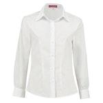 Bluse *leicht tailliert* langarm weiß