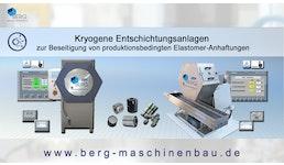 kryogene Entschichtungsanlagen / cryogenic decoating machines / machines d'enlever des couches méthode cryogénique