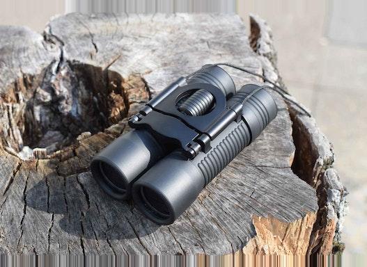 Profi Fernglas Faltbar kompakt Spektiv Mini Binocular 10x27mm Objektiv