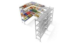 Easy rack Regalsystem - Tiefe 300