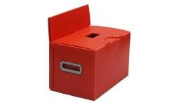 Stimmzettelbehälter