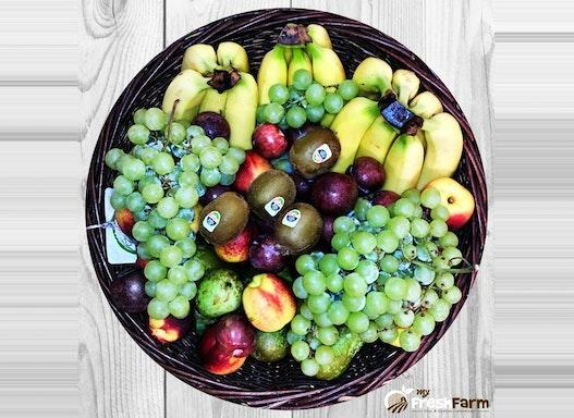 Obstkorb DEPARTMENT - 13,5 Kg Obst der Saison - für 20-25 Mitarbeiter