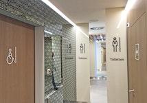 WC-Beschriftung